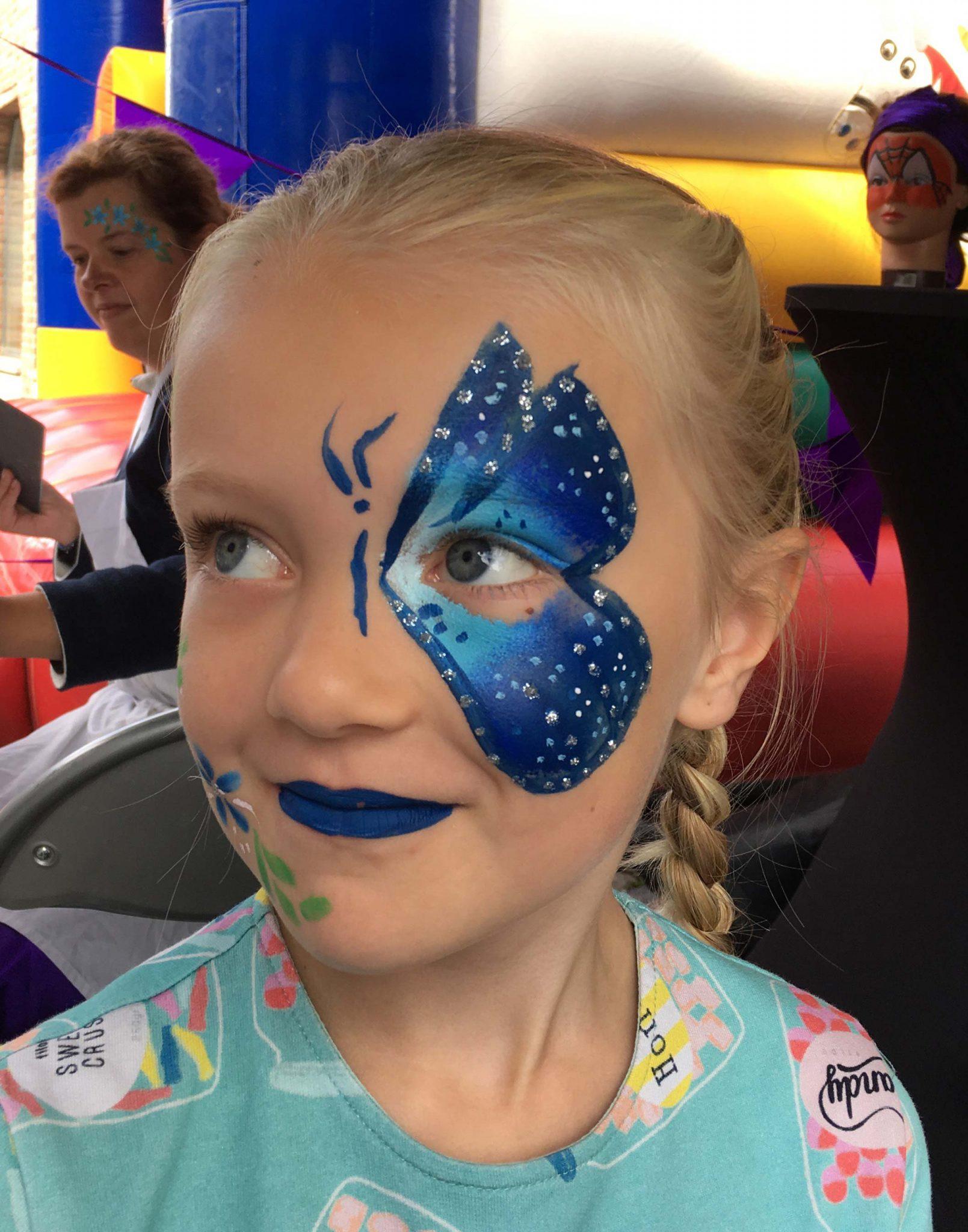 Een Blauwe Vlinder voorbeeld