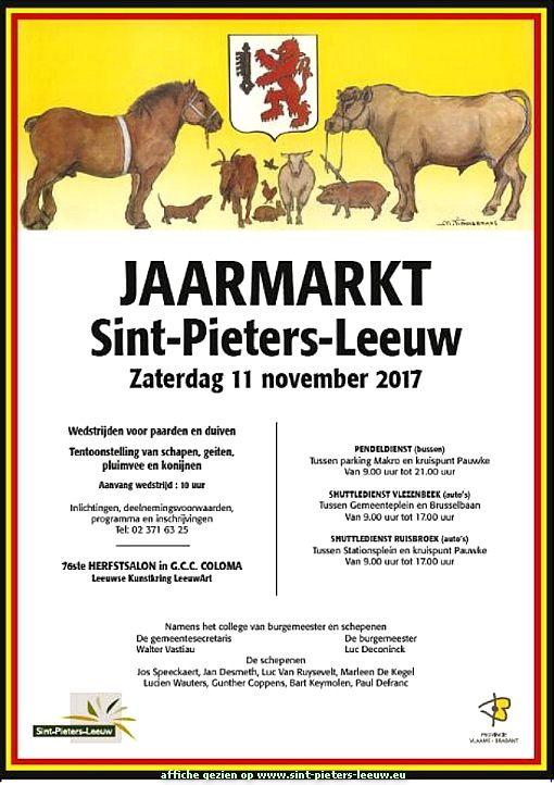Jaarmarkt Sint-Pieters-Leeuw