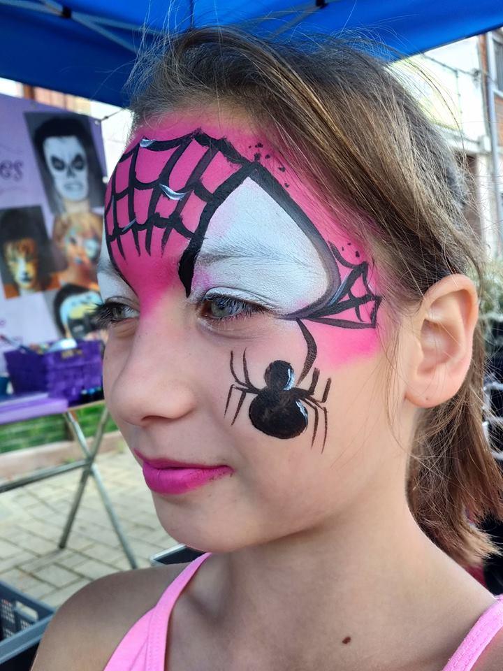 kindergrime_roze_spiderwoman