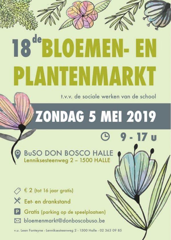 Bloemenmarkt Halle 2019